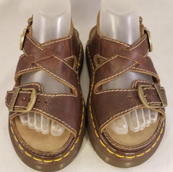 8b5b12a2297ab Dr. Martens Other - Vintage Dr.Martens Brown Sandals Size UK 3   US